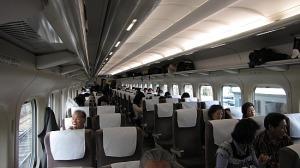 interior de avión