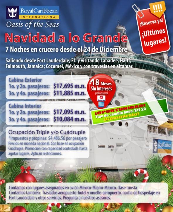 Navidad Royal Caribbean