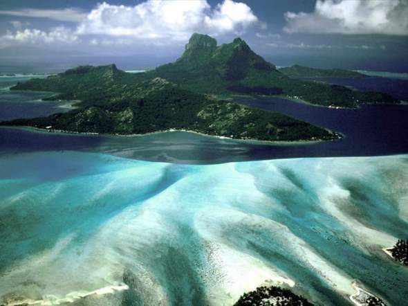 Bora Bora, Polinesia Fracnesa