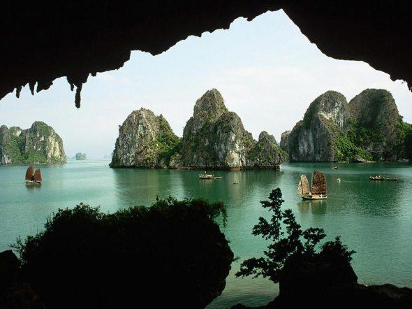 Bahía Halong, Vietnam