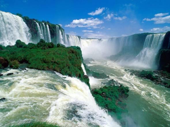 Cascadas de Iguazu, Sudamerica