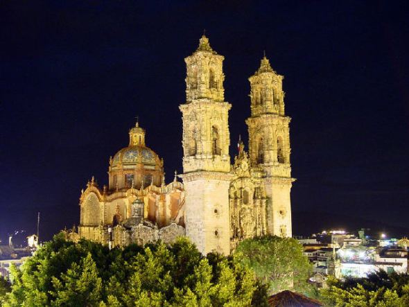 Iglesia de Santa Prisca, Taxco.