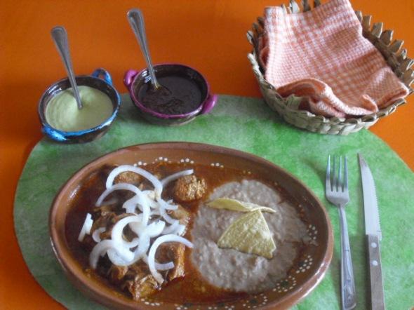 Tatemado de Cerdo en Comala