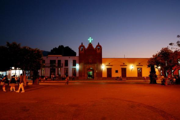 La Plaza de Armas Antigua