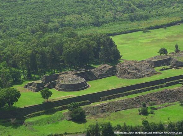 Zona arqueológica de Tzintzunzan